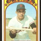 SAN FRANCISCO GIANTS JIMMY ROSARIO 1972 TOPPS # 366 EX