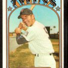 MINNESOTA TWINS DANNY THOMPSON 1972 TOPPS # 368 EX/EM