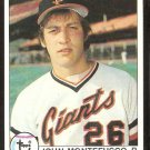 SAN FRANCISCO GIANTS JOHN MONTEFUSCO 1979 TOPPS # 560 NR MT