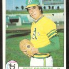 OAKLAND ATHLETICS PETE BROBERG 1979 TOPPS # 578 NR MT SOC