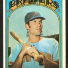 MILWAUKEE BREWERS BOBBY HEISE 1972 TOPPS # 402 VG/EX