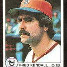 BOSTON RED SOX FRED KENDALL 1979 TOPPS # 83 NR MT