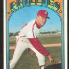 PHILADELPHIA PHILLIES BARRY LERSCH 1972 TOPPS # 453 VG