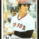 BOSTON RED SOX BUTCH HOBSON  1979 TOPPS # 270 VG
