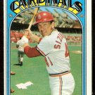 ST LOUIS CARDINALS TED SIZEMORE 1972 TOPPS # 514 VG+