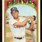 ATLANTA BRAVES OSCAR BROWN 1972 TOPPS # 516 VG+