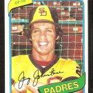 SAN DIEGO PADRES JAY JOHNSTONE 1980 TOPPS # 31 NR MT