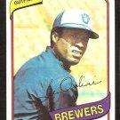 MILWAUKEE BREWERS BEN OGLIVIE 1980 TOPPS # 53 NR MT