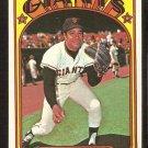 SAN FRANCISCO GIANTS JUAN MARICHAL 1972 TOPPS # 567 VG