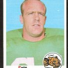 CINCINNATI BENGALS PETE PERREAULT ROOKIE CARD RC 1969 TOPPS # 181 EX+
