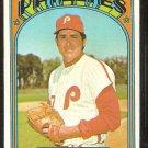 PHILADELPHIA PHILLIES BILLY WILSON 1972 TOPPS # 587 EX