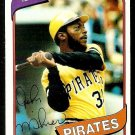 PITTSBURGH PIRATES JOHN MILNER 1980 TOPPS # 71 NR MT
