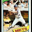NEW YORK METS JOHN STEARNS 1980 TOPPS # 76 NR MT