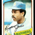 SEATTLE MARINERS RUPPERT JONES 1980 TOPPS # 78 NR MT