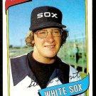 CHICAGO WHITE SOX STEVE TROUT 1980 TOPPS # 83 NR MT