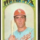 CHICAGO WHITE SOX RICH MORALES 1972 TOPPS # 593 VG/EX