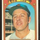 NEW YORK METS JIM BEAUCHAMP 1972 TOPPS # 594 VG/EX