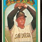 SAN DIEGO PADRES MIKE CORKINS 1972 TOPPS # 608 VG/EX