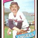 CALIFORNIA ANGELS FRANK TANANA 1980 TOPPS # 105 NM/MT