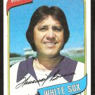 CHICAGO WHITE SOX FRANCISCO BARRIOS 1980 TOPPS # 107 NR MT