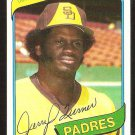 SAN DIEGO PADRES JERRY TURNER 1980 TOPPS # 133 NM/MT