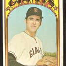 SAN FRANCISCO GIANTS MIKE McCORMICK 1972 TOPPS # 682