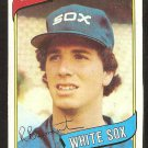 CHICAGO WHITE SOX ROSS BAUMGARTEN 1980 TOPPS # 138 NR MT