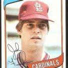 ST LOUIS CARDINALS JOHN FULGHAM 1980 TOPPS # 152 NM