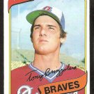 ATLANTA BRAVES TONY BRIZZOLARA 1980 TOPPS # 156 NR MT