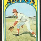 HOUSTON ASTROS JIM STEWART 1972 TOPPS # 747 VG+/EX