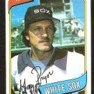 CHICAGO WHITE SOX GREG PRYOR 1980 TOPPS # 164 EX/NM