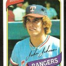 TEXAS RANGERS JOHN HENRY JOHNSON 1980 TOPPS # 173 EM/NM