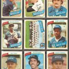 1980 TOPPS CHICAGO WHITE SOX TEAM LOT 28 DIFF RALPH GARR TEAM CARD LEMON CHAPPAS