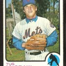 NEW YORK METS TUG McGRAW 1973 TOPPS # 30 VG+