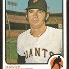 SAN FRANCISCO GIANTS RANDY MOFFITT 1973 TOPPS # 43