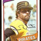 PITTSBURGH PIRATES DAVE ROBERTS 1980 TOPPS # 212 NR MT