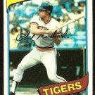 DETROIT TIGERS PHIL MANKOWSKI 1980 TOPPS # 216 NR MT