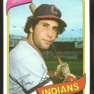 CLEVELAND INDIANS RON HASSEY 1980 TOPPS # 222 NM/MT