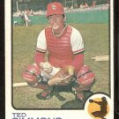 ST LOUIS CARDINALS TED SIMMONS 1973 TOPPS # 85 G/VG