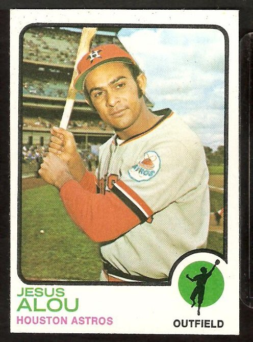 HOUSTON ASTROS JESUS ALOU 1973 TOPPS # 93 EX/NM