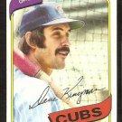 CHICAGO CUBS DAVE KINGMAN 1980 TOPPS # 240 EX