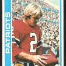 NEW ENGLAND PATRIOTS MIKE PATRICK 1978 TOPPS # 56 VG+