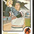 MINNESOTA TWINS DICK WOODSON 1973 TOPPS # 98 NR MT