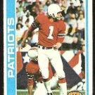 New England Patriots John Smith 1978 Topps Football Card # 136 vg