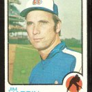 Atlanta Braves Jim Hardin 1973 Topps Baseball Card # 124 vg/ex