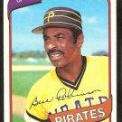 Pittsburgh Pirates Bill Robinson 1980 Topps Baseball Card # 264 nr mt