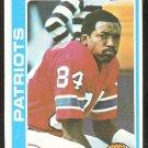 New England Patriots Darryl Stingley 1978 Topps Football Card # 221 ex