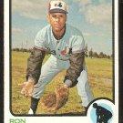 Montreal Expos Ron Hunt 1973 Topps Baseball Card # 149 ex