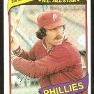 Philadelphia Phillies Mike Schmidt 1980 Topps Baseball Card # 270 nr mt