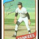 New York Yankees Jim Spencer 1980 Topps Baseball Card # 278 nr mt